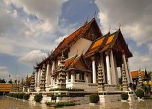 bangkok suthatthailand wat Royaltyfria Bilder