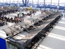 Bangkok  suvarnabhumi. Airport , floor 4 check in area Stock Photos
