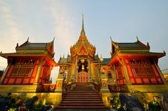 BANGKOK, TAILANDIA - 11 APRILE: La cremazione reale Fotografia Stock Libera da Diritti