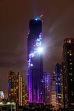 Bangkok, Tailandia 29 agosto 2016: Il nightlight di ci di Bangkok Fotografia Stock