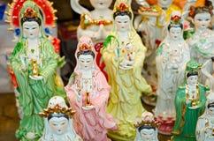 Bangkok (Tailandia), amuleti e talismani Immagine Stock Libera da Diritti