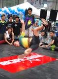Bangkok, Tailandia: Bailarín adolescente de la rotura Foto de archivo