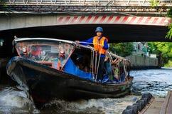 Bangkok, Tailandia: Canal Imágenes de archivo libres de regalías