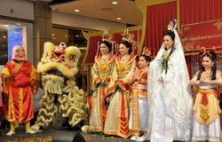 Bangkok, Tailandia: Celebración de Año Nuevo chino Foto de archivo