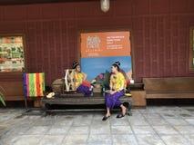 BANGKOK, TAILANDIA - 16 DE ABRIL DE 2018: Casa de Jim Thompson abierta para los turistas imagen de archivo libre de regalías