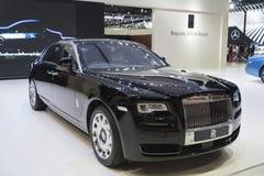 BANGKOK, TAILANDIA - 4 DE ABRIL: Nueva marca clásica Rolls Royce del coche Imagenes de archivo
