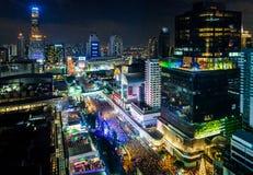 BANGKOK, TAILANDIA - 31 DE DICIEMBRE DE 2017: Imagen de archivo libre de regalías