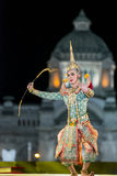 bangkok Tailandia - 13 de diciembre de 2015, Khon es drama de la danza de Tha Fotos de archivo libres de regalías