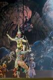 bangkok Tailandia - 13 de diciembre de 2015, Khon es drama de la danza de Tha Imagenes de archivo