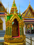 Bangkok, Tailandia - 30 de junio de 2008: El palacio del rey Foto de archivo libre de regalías