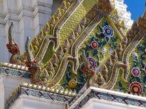 BANGKOK, TAILANDIA: 30 de junio de 2018 la capilla del pilar de la ciudad de la explosión Imagenes de archivo