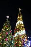BANGKOK, TAILANDIA - 21 DE NOVIEMBRE DE 2017: Feliz Navidad y feliz Imagen de archivo libre de regalías