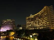 BANGKOK, TAILANDIA - 18 DE OCTUBRE DE 2015: Hotel Bangkok del La de Shangri Fotografía de archivo