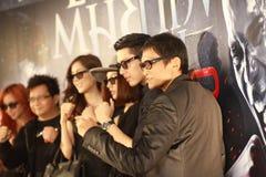 Bangkok, Tailandia - 21 de octubre de 2013: Productor de película Tom Yum G Foto de archivo libre de regalías