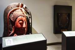 BANGKOK, TAILANDIA - 18 DICEMBRE: Il Buddha dorato, Phra Buddha Maha Fotografie Stock Libere da Diritti