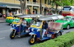 Taxi differenti a Bangkok Fotografia Stock Libera da Diritti