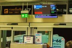 Bangkok, Tailandia - 21 febbraio 2017: St a terra di Bangkok Airways Fotografie Stock