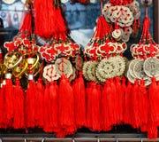 BANGKOK, TAILANDIA - FEBRERO 8,2017: Año Nuevo chino propicio Imágenes de archivo libres de regalías