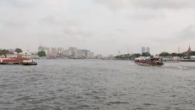 Bangkok, Tailandia, fiume, città stock footage