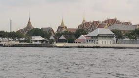 Bangkok, Tailandia, fiume, città video d archivio
