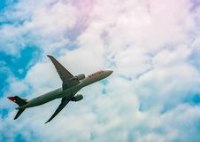 BANGKOK, TAILANDIA 27 GENNAIO 2018: Linea aerea internazionale svizzera fotografia stock