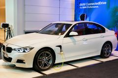 BANGKOK, TAILANDIA - 8 GIUGNO 2018: BMW 330e m. Sport è stato unve Immagini Stock