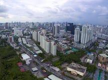 BANGKOK TAILANDIA - GIUGNO 7,2017: vista aerea di alto bui moderno Immagine Stock