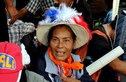 Bangkok, Tailandia: La operación cerró al Protestor de Bangkok Fotos de archivo