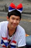 Bangkok, Tailandia: La operación cerró al vendedor del recuerdo de Bangkok Fotografía de archivo