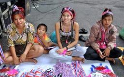 Bangkok, Tailandia: La operación cerró a vendedores del recuerdo de Bangkok Fotografía de archivo libre de regalías