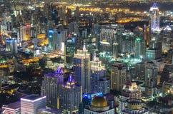 BANGKOK, TAILANDIA - 13 LUGLIO: Vista superiore di costruzione Bai-Yok2 che Fotografia Stock Libera da Diritti