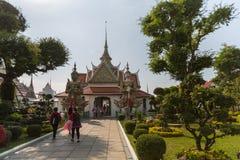 BANGKOK, TAILANDIA - 26 MARZO 2015: Grande palazzo reale a Bangkok immagine stock