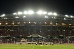 BANGKOK TAILANDIA NOV12: 2015 fans no identificadas de ayuda de Tailandia Imagenes de archivo