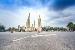 Bangkok, Tailandia - 19 ottobre 2016: Monumento Anusawar di democrazia Fotografia Stock Libera da Diritti