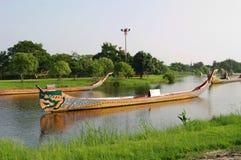 BANGKOK, TAILANDIA - 30 OTTOBRE 2013: Parco antico del Siam, processione reale del corso d'acqua Fotografia Stock