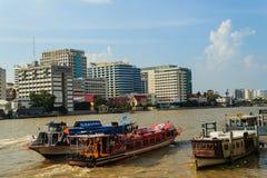 Bangkok, Tailandia - 14 ottobre 2016: Vista dell'ospedale di Siriraj da Immagini Stock