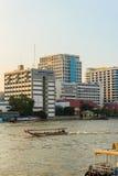 Bangkok, Tailandia - 14 ottobre 2016: Vista dell'ospedale di Siriraj da Fotografia Stock