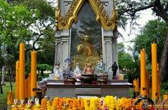 Bangkok, Tailandia: Santuario della sosta di Lumphini Fotografia Stock
