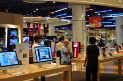 Bangkok, Tailandia: Servizio del computer al modello del Siam fotografia stock
