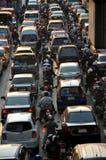 Bangkok, Tailandia: Traffico di ora di punta Immagini Stock Libere da Diritti