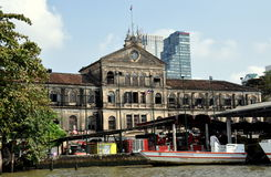 Bangkok, Tailandia: Vecchia Camera della dogana fotografie stock libere da diritti