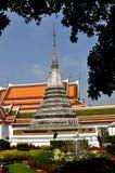 Bangkok, Tailandia: Wat Arun, tempiale dell'alba Immagine Stock