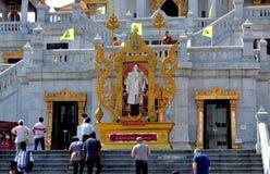 Bangkok, Tailandia: Wat Tramit in Chinatown Immagini Stock Libere da Diritti