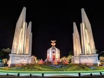 Bangkok Tajlandia, Czerwiec, - 2019: Bangkok miasto w nocy zdjęcia royalty free