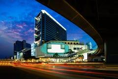 BANGKOK TAJLANDIA, Czerwiec, - 17 2017: Panorama MBK centrum zakupy Zdjęcie Royalty Free