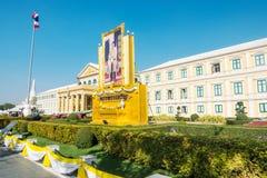 BANGKOK TAJLANDIA, Grudzień, - 22 2017: Ministerstwo Obrony budynek przy słonecznym dniem w Bangkok, Tajlandia zdjęcie royalty free