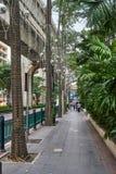 BANGKOK TAJLANDIA, GRUDZIEŃ, - 28, 2017: Nowożytny zielony centrum miasta Zdjęcie Royalty Free