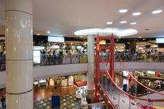 BANGKOK TAJLANDIA, Grudzień, - 7, 2017: Mola 21 jedzenia Terminal w Terminal 21 zakupy centrum handlowym Fotografia Royalty Free