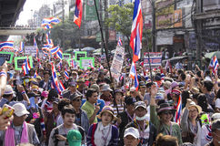 Bangkok, Tajlandia - Jan19, 2014 Obraz Stock