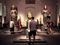 Bangkok Tajlandia, Jan, - 9, 2019: wielka kolekcja Tajlandzka sztuka i artefakty w muzeum narodowym w Bangkok, Tajlandia fotografia royalty free